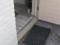 Geldermalsen, achterdeurdorpel vervangen
