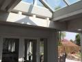 Zetten, veranda met lichtstraat en openhaard